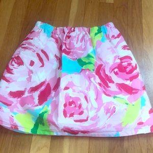 Custom Lilly Pulitzer skirt!
